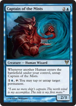 Magic The Gathering - Captain of The Mists (45) - Avacyn Restored - Foil