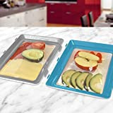 Durandal Boite a Lunch Box Click & Fresh I Lot de 2 Plateaux de Conservation...