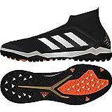 Adidas Predator Tango 18+ TF, Zapatillas de fútbol Sala Hombre, Negro (Negbas/Ftwbla/Rojsol 000), 41 1/3 EU