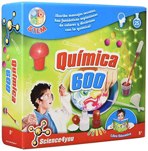 Science4you - Química 600 - Juguete científico y educativo (480343)