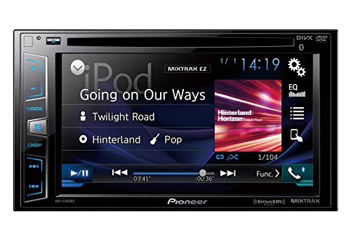 Pioneer AVH-X2800BS In-Dash DVD Receiver with 6.2' Display, Bluetooth, SiriusXM-Ready (Discontinued by Manufacturer)