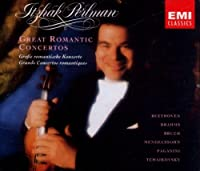 Great Romantic Concertos by Itzhak Perlman