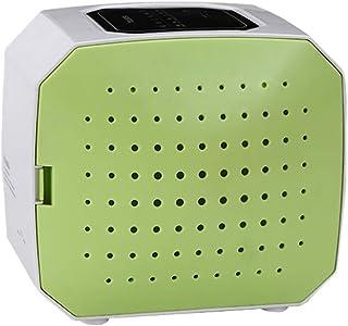 Air Purifier Negative Ion Generator Air Cleaner Anion LED Screen Ionizer Generator Fresh Air (Green)