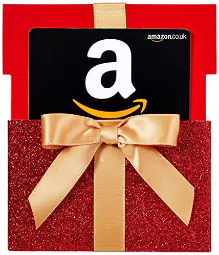 Amazon.co.uk Gift Card for Any Amount in a Red Reveal