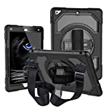 Case for iPad Air 2, CLARKCAS Shockproof Heavy Duty Protective Rugged Case Cover