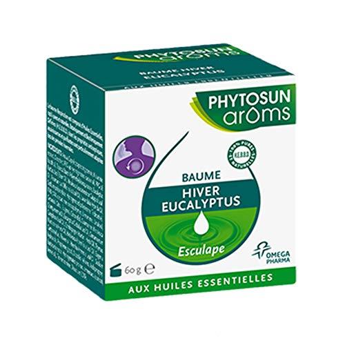 Phytosun Aromas Bálsamo Hiver Eucalyst, con aceites esenciales, 60 g