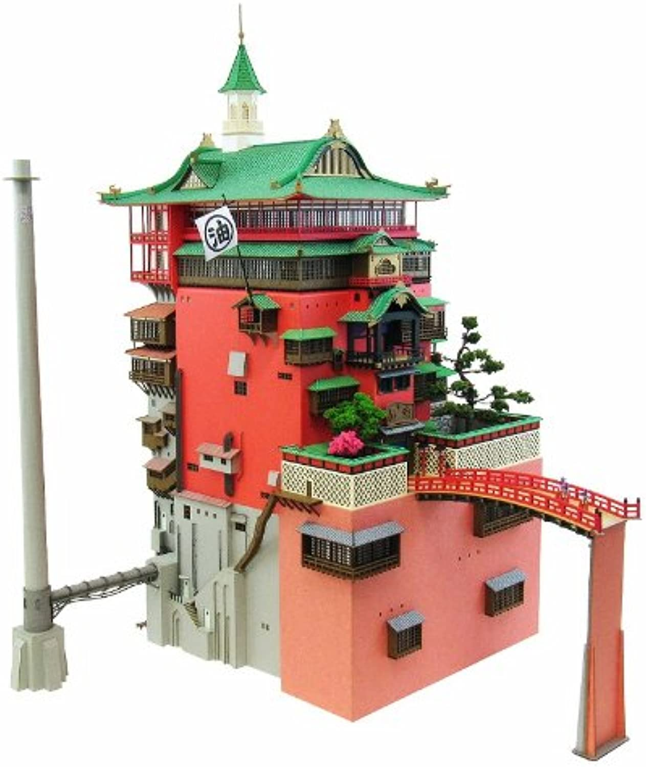 MK07-10 (Paper Craft) Spirited Away Abu a of 1 150 thouse (japan import)