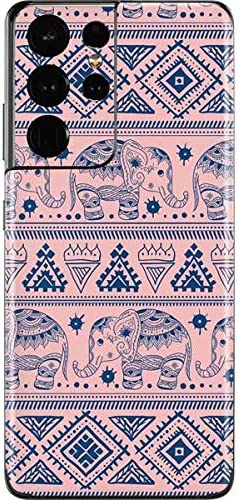 Skinit Decal Phone Skin Compatible with Galaxy S21 Ultra 5G Originally Designed Tribal Elephant product image