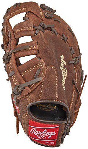 Rawlings Player Preferred Baseball First Base Mitt, Right Hand, Single-Post Double-Bar Web, 12-1/2 Inch