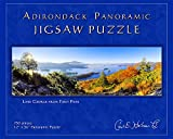 Adirondack Jigsaw Puzzle, Panoramic, Lake George from First Peak - FPPZ
