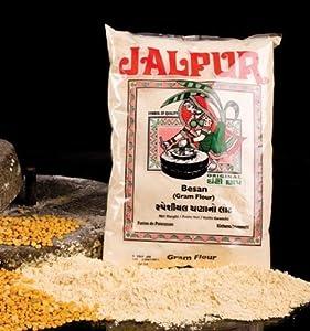 Jalpur - Harina gruesa de garbanzos - molida a la piedra - Besan - 1 kg