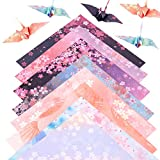 Origami Paper 180 Sheets 6 inches Square 8-12 Colors Differents Color on Both Sides Hand Crafts Origami Paper Arts Creativity