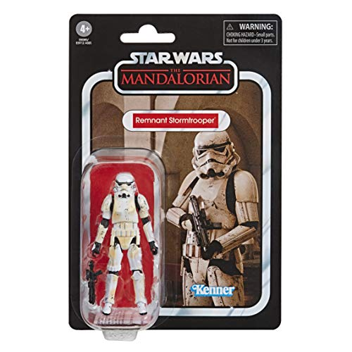 Star Wars The Vintage Collection - Stormtrooper Superstite (Action figure giocattolo da 9,5 cm ispirata alla serie Disney+ The Mandalorian)