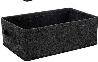 Panier de rangement en feutre Boîte de rangement pliable Cube de rangement pliable Bacs de rangement en tissu Accueil Orga...