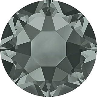 2000, 2038 & 2078 Swarovski Flatback Crystals Hotfix Black Diamond | SS12 (3.1mm) - Pack of 1440 (Wholesale) | Small & Wholesale Packs