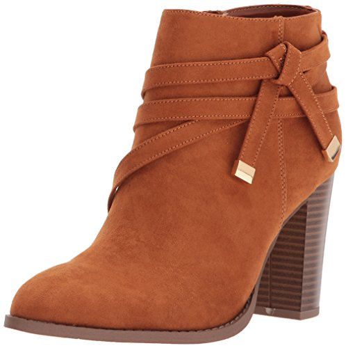 Athena Alexander Women's Renly Ankle Bootie, tan Suede, 6 M US