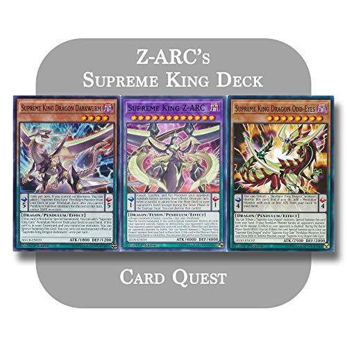 Yu-Gi-Oh! ARC-V - Z-ARC's Complete Supreme King Pendulum Deck