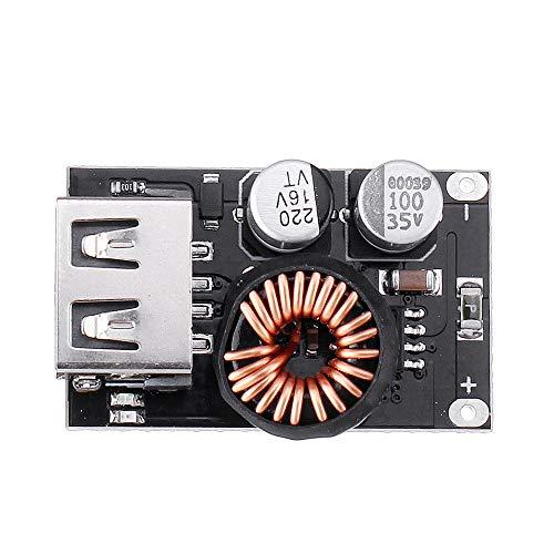 Módulo electrónico QC2.0 QC3.0 rápido cargador rápido USB tablero del módulo de alta eficiencia DC-DC reducen el convertidor Buck 10V-32V a 3.8V-12V for 3pcs del teléfono móvil Equipo electrónico de a