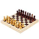 Material : Board - LDF, top - plywood, lacquer Pieces - LDF, lacquer Dimensions : Board - 9х4.5х1.5'' (23х11.5х3.8 cm) Height : Piece - ≈ (1.6'') 4.1 cm Made in : Russia Russian brain game for kids and adults The best Russian chess game for the activ...