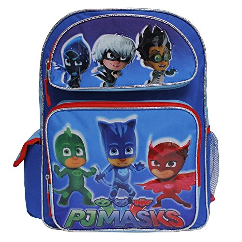PJ Masks Large 16 inches School Backpack BRAND NEW - Licensed Product