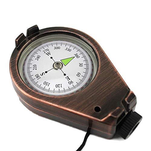 Boussole Navigation Portable Haute Précision Multifonction Extérieure Survie Navigateur pour Forêt Camping Alpinisme Outil