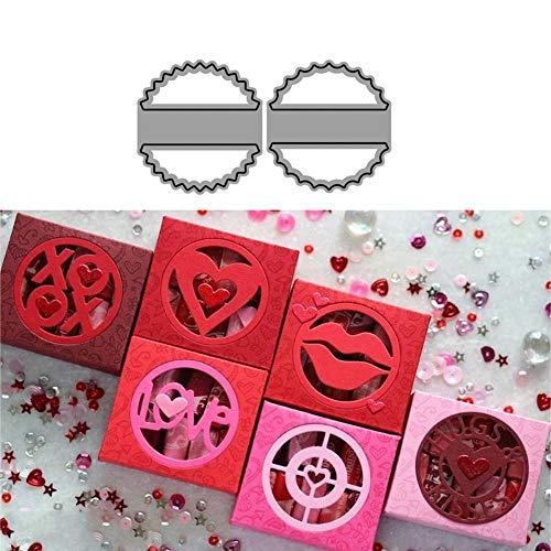 Verborgen metalen snijmatten Stencils voor doe-het-zelf Scrapbooking/fotoalbum decoratieve stempel Album reliëf DIY Card