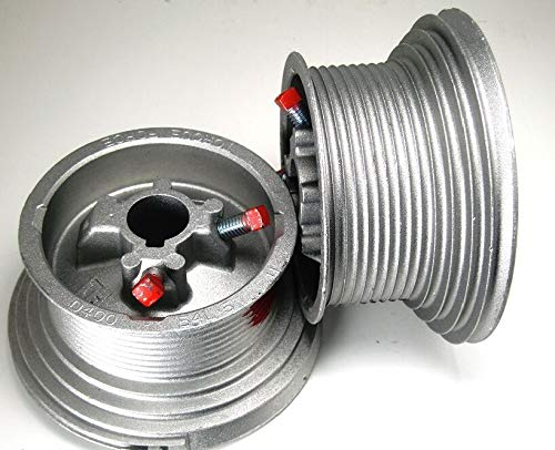 Review Of HIGH Lift Garage Door Cable Drums D400-54 54 MAX HIGH Lift