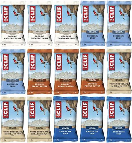 CLIF Bar Mix Box, 15 x 68 g Riegel, gemischt