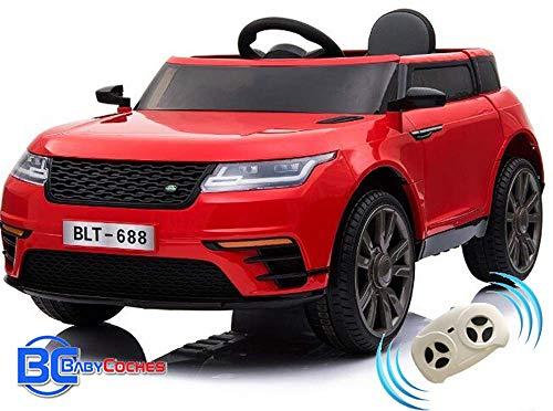 BC BABY COCHES Urban SUV Coche eléctrico niños con Mando