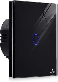 Navaris interruptor táctil de pared - Interruptor de luz