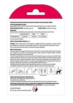 Vétocanis - Action Duo Pipette Anti-Puces Anti-Tiques Chien - Traitement et Protection Antiparasitaire Grand Chien 20-40 kg et Habitat - Lot de 2