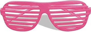 Forum Novelties Unisex Slot Glasses, Neon Pink