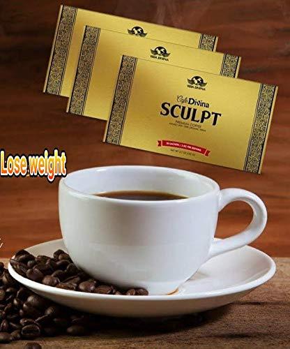 6 Weeks Vida Divina Tea+Ignite Digestive Enzymes+Sculpt coffee 1 box 30 Sachets Weight loss