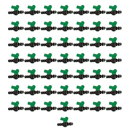 Global Material Llave de Paso riego por Goteo 16mm a Toma derivación 16mm (Pack 50 uds)