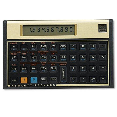 HP 12C Financial Calculator, 120 Functions, 5'x3-1/10'x1/2'