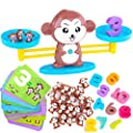 CoolToys Monkey Balance Cool Math Game for Girls & Boys | Fun, Educational Children's Gift & Kids Toy STEM Learning Ages 5+ (64-Piece Set) from CoolToys
