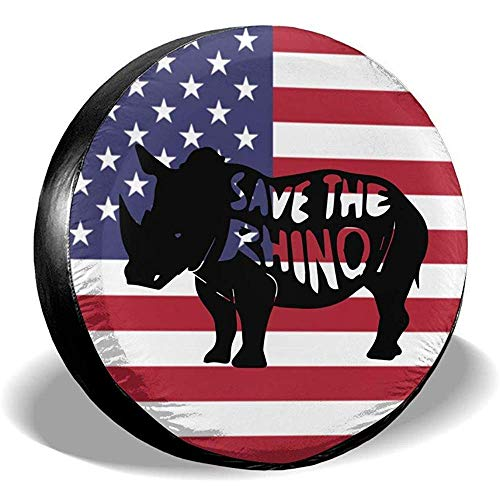 Alice Eva Speichern Sie die Rhino-Reifen-Abdeckungen Auto-SUV-Anhänger-LKW-Ersatzreifen-Reifen-Abdeckung