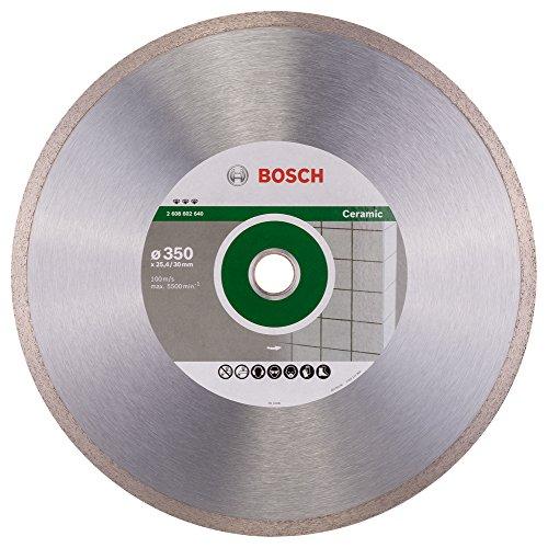 Bosch Professional Diamanttrennscheibe Best für Ceramic, 350 x 30/25,40 x 3 x 10 mm, 2608602640