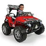 INJUSA - Coche Monster Car 24V Color Rojo, (75324)