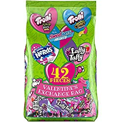 Trolli Variety Valentine Bag Sweetart Hearts, Nerds & Laffy Taffy), 16 Oz