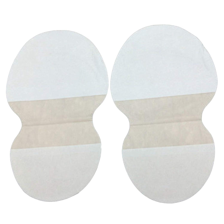 ゆるくエーカーでもOU-Kunmlef 便利な20個のスウェットパッドアンダーアームドレス衣類は、汗をかきます(None Picture Color)
