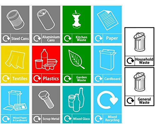 pegatina reciclaje fabricante Tamengi