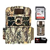 Browning Trail Cameras Strike Force HD MAX with 32GB SD and Focus USB Reader Bundle (4 Items)