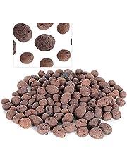01 Medio de Cultivo de guijarros de Arcilla, Rocas de Arcilla de aniones seguras, Mantiene el Agua y los nutrientes Cultivo sin Suelo para filtrar la Calidad del Agua Planta hidropónica