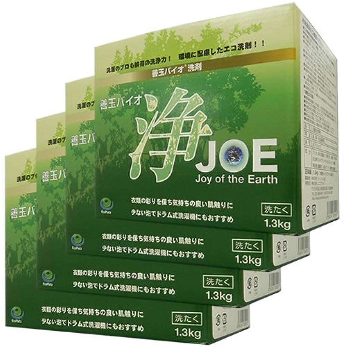散歩に行く航空会社今まで善玉バイオ洗剤 浄 JOE (4個)