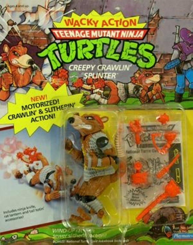 1989Terrifiant Crawlin Splinter Wacky Action Teenage Mutant Ninja Turtles