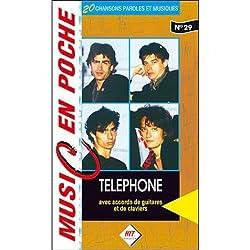 Téléphone : music en poche n° 29 - paroles et accords