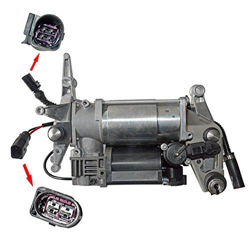 MSQ-CD Luftfederung Kompressor mit Halterung Q7 4L 06-15 Toureg 02-10 4L0698007