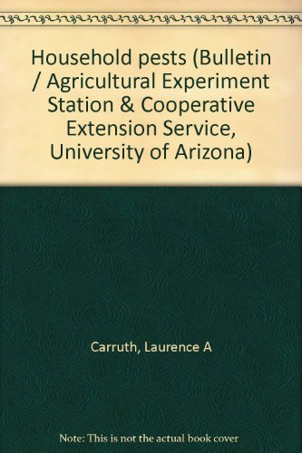 Household pests (Bulletin / Agricultural Experiment Station & Cooperative...