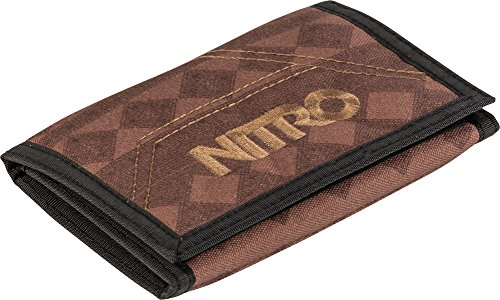 Nitro Snowboards 2018 muntbeurs, 14 x 10 cm, Northern Patch (bruin) - 1131-878000